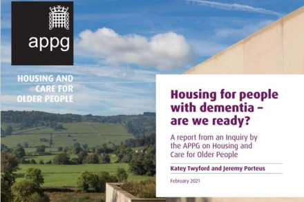 Housing for people with dementia - are we ready?